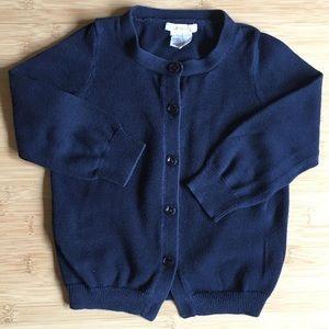 🍭crewcuts navy cardigan - 3T